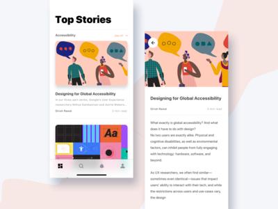 Design Blog App