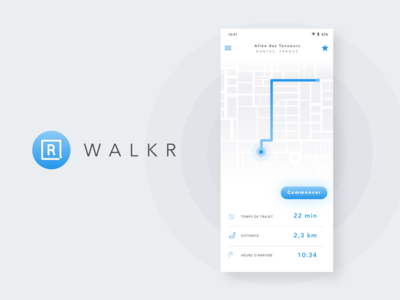 Mobile app - WalkR