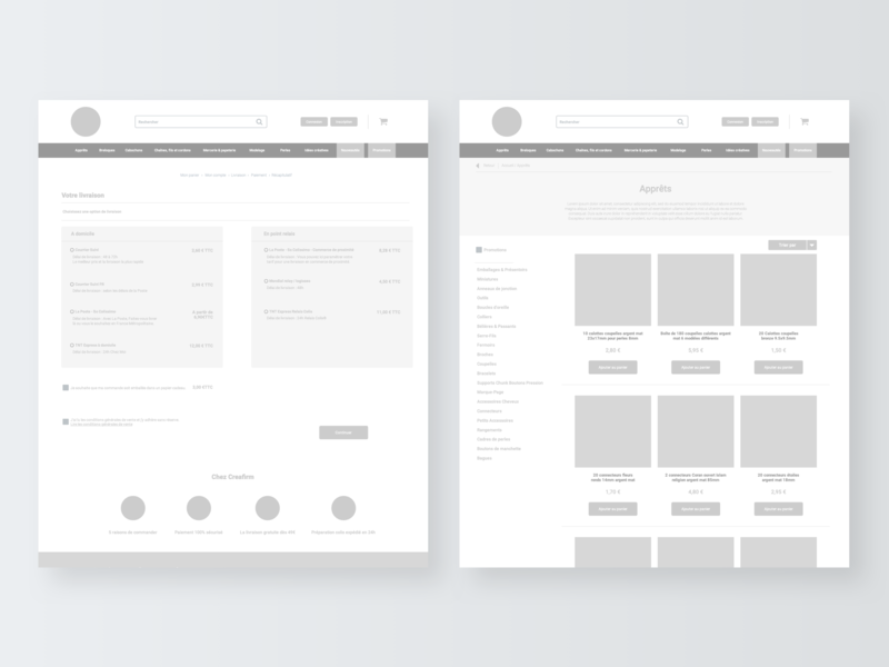 Redesign of Creafirm - Part 1 pattern wireframing wireframes wireframe connect concept web  design webdesign website digital web axure vector ux interface sketch ui minimal flat design