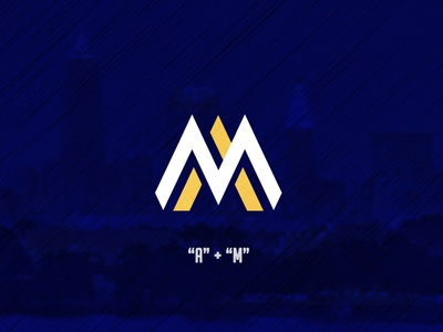 A + M Logotype - Anthony Muraco