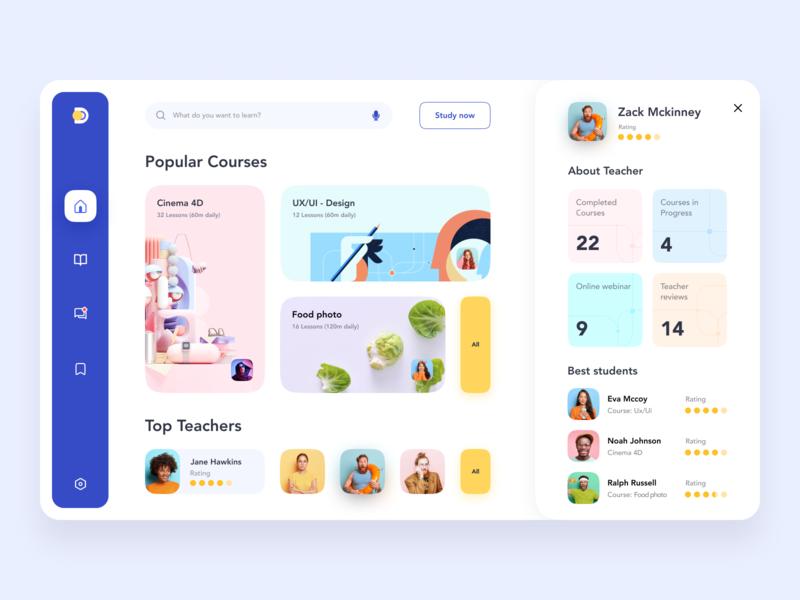 Education Web Platform 👨💻