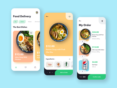 Food delivery uidesign uxdesign ux ui interface ios app design app figmadesign figma food app delivery service delivery delivery app design app design daily ui challenge daily ui