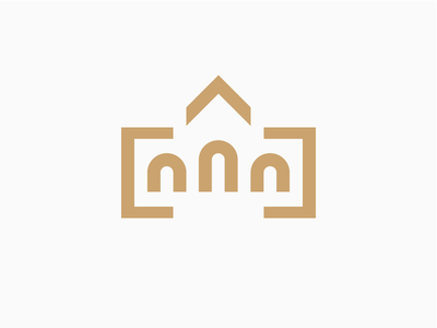Central Cemetery logo cemetery szczecin minimal simple design logo