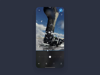 Video Editing App Interaction