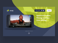 Video Editing App Landing Page