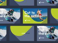 Unclip Promo graphics