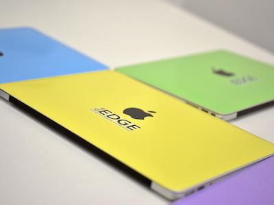 The Edge - Laptop Vinyls physical design macbook vinyl