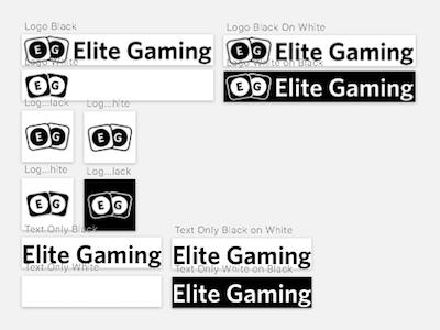 Elite Gaming Logo design logo gaming