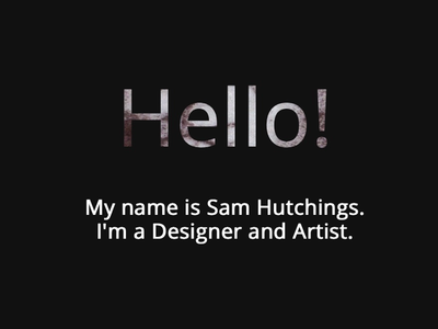 A Layered Hello art introduction layers graphic design