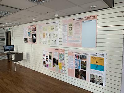 Leas Pavilion Archive Exhibition graphic design experience exhibition