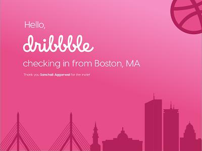 Dribbble Debut debut boston dribbble