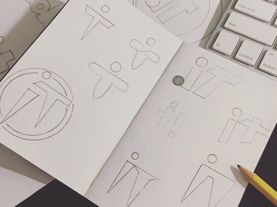 Logo Concepts for create.it concepts sketches logo
