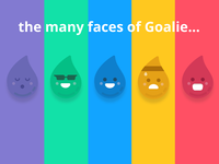 The Many Faces of Goalie!