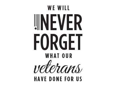 Never Forget- Veterans Day 2015