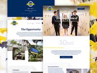 Fundraising Website–Castle Hills
