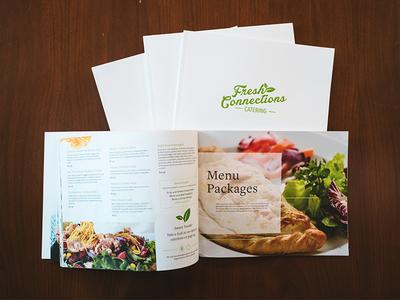 Catering Menu Design food restaurant print design marketing photography white clean brand layout design menu catering