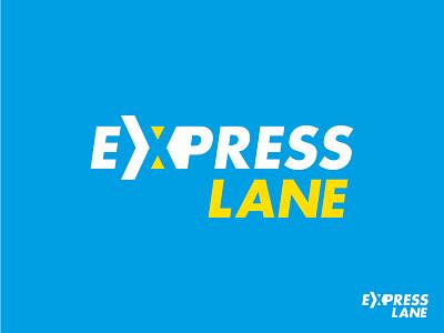 EXPRESS LANE LOGO exploration brand lettermark minimal clean branding design logodesign logo design design type logo typography branding logo graphic design