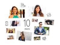 Revfluence: Plan for 10 Posts Visual