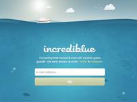 Incrediblue Splash Page