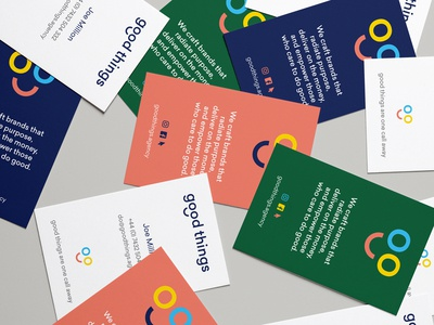 Good Things –Business Cards