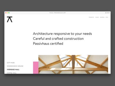 Progressive Architecture – Web Concepts #5