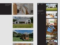 Progressive Architecture –Landing Page Concepts
