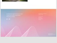Progressive Architecture – Footer Concept