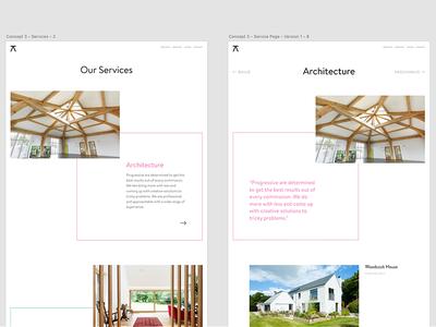 Progressive Architecture – Web Concepts #7