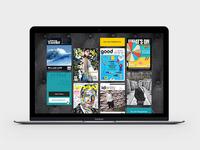 Motivate Publishing –Web Concept #1