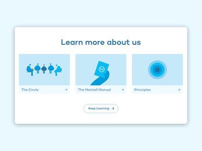 Mentell –Homepage #2