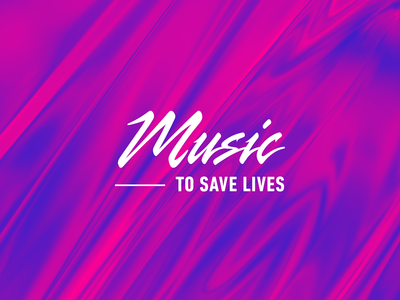 Music – To Save Lives – Identity Concept
