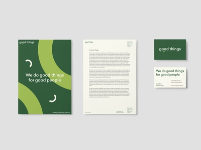 GoodThings – Stationary Concept #1