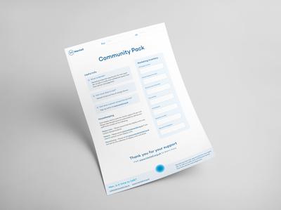 Mentell – Community Pack Letter