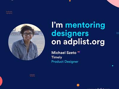 I joined the ADPLIST to mentor designers :D :D ux design career growth mentoring product design interaction design ux illustration graphic design sketch ui design icon design