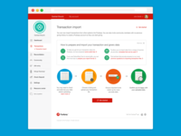 Transaction Import product landing page