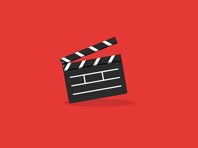 Thank you Netflix discussion netflix clapper film red web design icon design graphic design