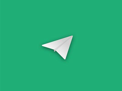 Beta launch illustration beta launch ui design gradient paper planes icon design paper plane