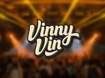 Vinny Vin Logo Project strong brand logodesign logo design type illustration typography branding lettering