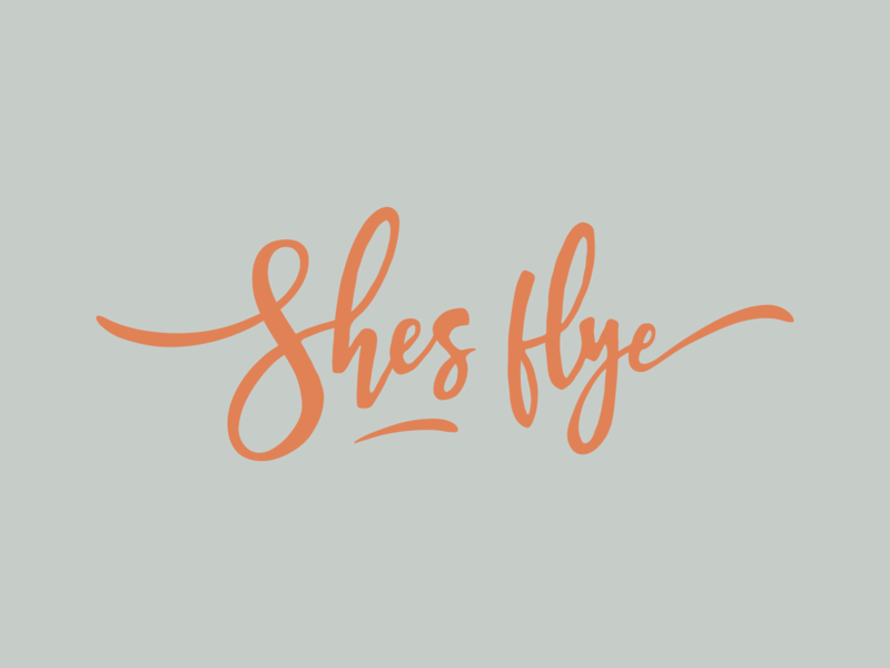 Shes fly design badges logodesign brand branding logo letters type typography lettering