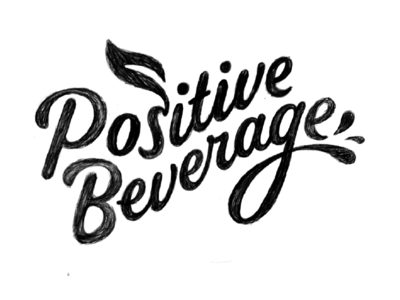Positive Beverage Logo concept