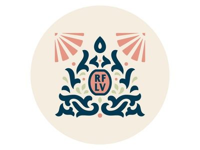 Flourish Logo type illustration vector typography lettering design badge badges carve carving flourish branding logobranding logo
