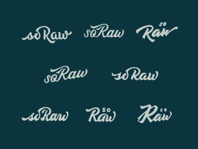 Raw Logo Concept