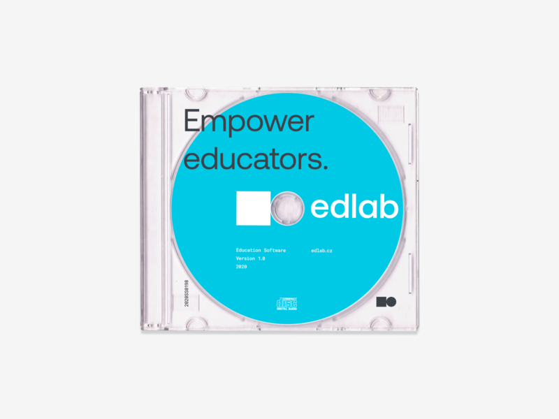 edlab — Education Software Packaging colorful vector layout branding logo identity typography brand clean design