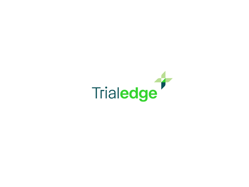 TrialEdge — Branding icon branding colorful logo flat identity typography brand clean design