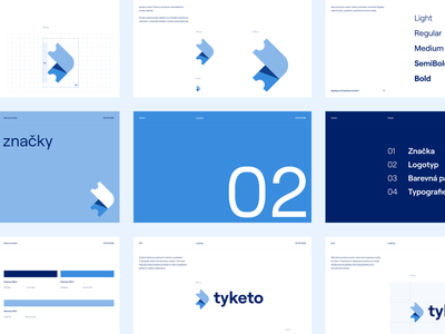 Tyketo — Tickets / Events portal illustration clean vector branding colorful logo identity typography brand design