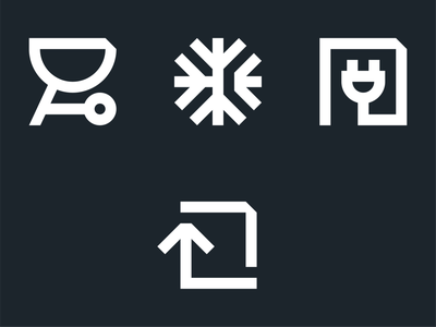 Futured — Iconset 1.0 icon design iconography icon vector layout identity flat brand clean design