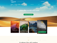 Fursantravel design homepage