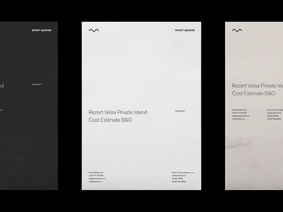 Proposal Cover editorial print paper brand identity