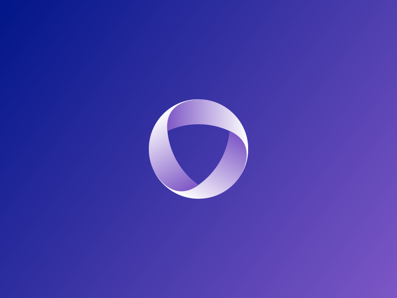 Sideproject Logo colorful gradient shield brand logo