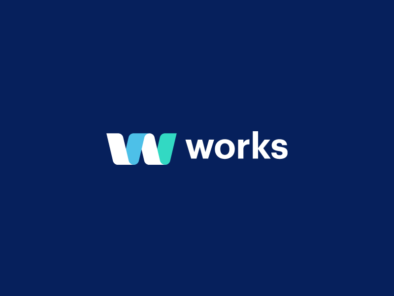 Works CMS - Branding corporate cms works logo brand